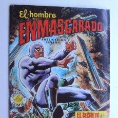 Tebeos: EL HOMBRE ENMASCARADO Nº 52 / EL SECRETO DE LA PIEDRA PLANA / COLOSOS DEL COMIC / SIN USAR. Lote 122274919