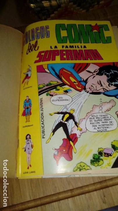 Tebeos: Superman Familia Superman Retapado con Nº 7,8 y 9 VALENCIANA - Foto 2 - 122287543