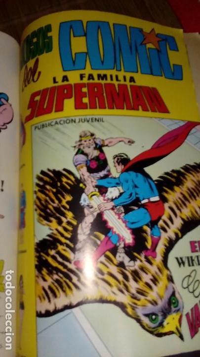 Tebeos: Superman Familia Superman Retapado con Nº 7,8 y 9 VALENCIANA - Foto 4 - 122287543