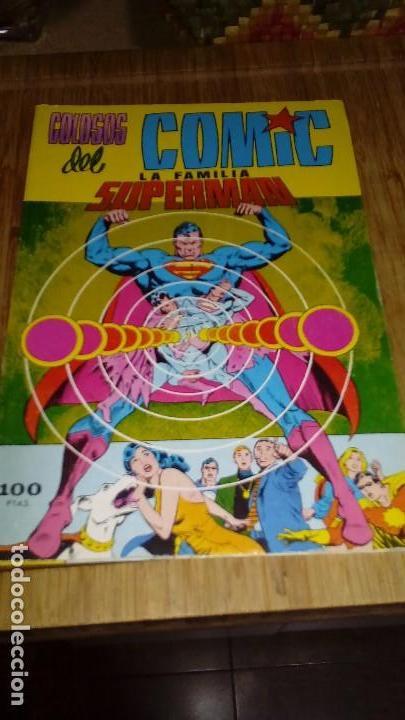 SUPERMAN FAMILIA SUPERMAN RETAPADO CON Nº 7,8 Y 9 VALENCIANA (Tebeos y Comics - Valenciana - Colosos del Comic)