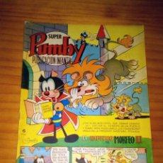 BDs: SUPER PUMBY - NÚMERO 95 - AÑO 1972 - BUEN ESTADO. Lote 122292335