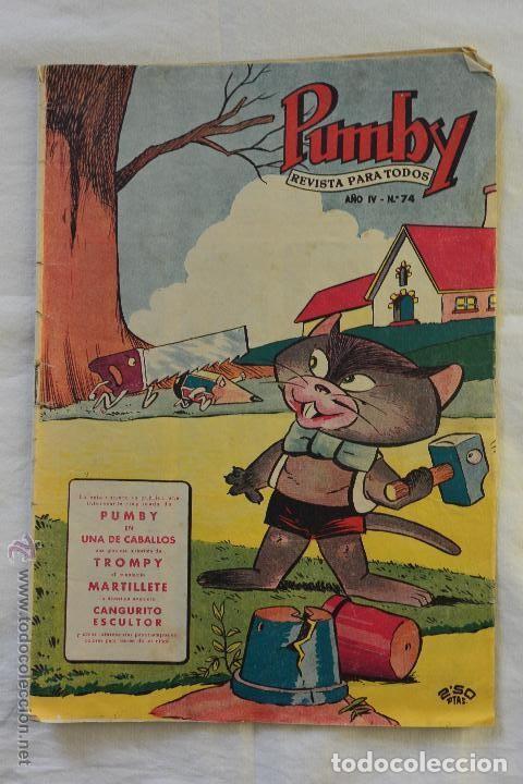 REVISTA PARA TODOS PUMBY Nº 74 (Tebeos y Comics - Valenciana - Pumby)