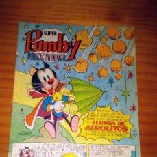 BDs: SUPER PUMBY - NÚMERO 98 - AÑO 1972 - PERFECTO ESTADO. Lote 122445531