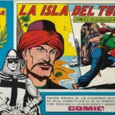 Tebeos: == P01 - EL GUERRERO DEL ANTIFAZ. Nº 21 :- LA ISLA DEL TURCO - HOMENAJE A M. JAGO. Lote 122733651