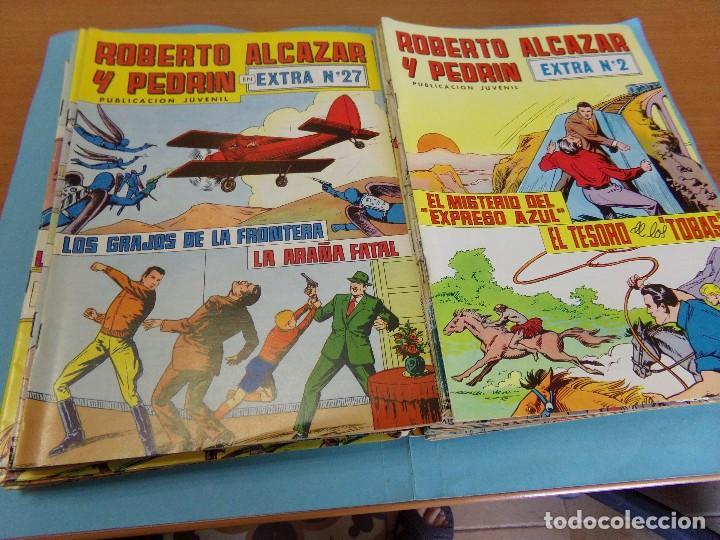 33TEBEOS, DE ROBERTO ALCAZAR Y PEDRIN, 2º EPOCA 1976 EXTRA (Tebeos y Comics - Valenciana - Roberto Alcázar y Pedrín)