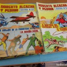 Tebeos: 33TEBEOS, DE ROBERTO ALCAZAR Y PEDRIN, 2º EPOCA 1976 EXTRA. Lote 123202891
