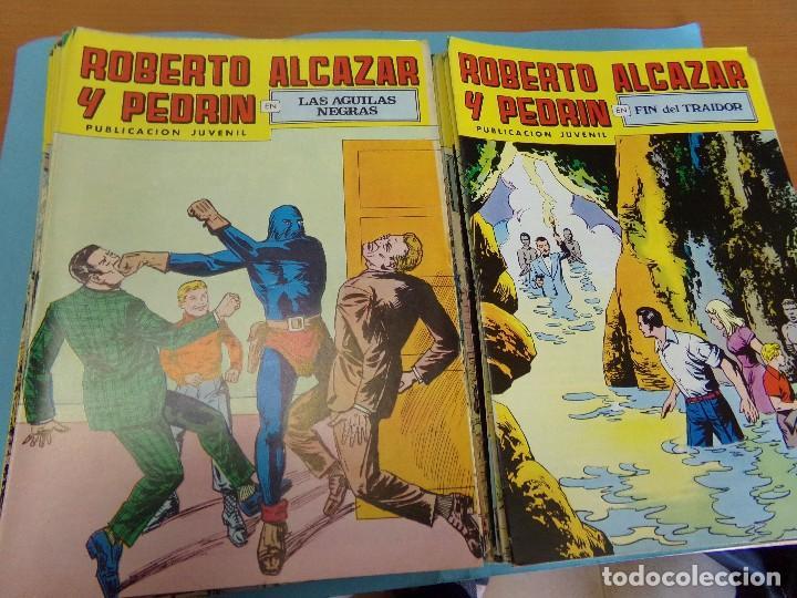 95 TEBEOS DE ROBERTO ALCAZAR Y OEDRIN, 2º EPOCA 1976 (Tebeos y Comics - Valenciana - Roberto Alcázar y Pedrín)