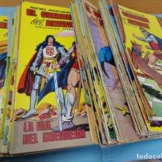 Tebeos: 64 TEBEOS DE NUEVAS AVENTURAS DEL GUERRERO DEL ANTIFAZ,1980. EDITORIAL VALENCIANA. Lote 123320783