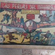 Tebeos: ROBERTO ALCAZAR Nº 36,LAS PERLAS DEL MAHARAJA. Lote 123331827