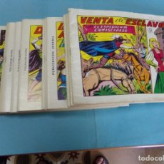 Tebeos: 21 TEBEOS DEL ESPADACHÍN ENMASCARADO,2º EDICCION 1981, DE EDITORIAL VALENCIANA. Lote 123365755