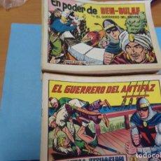 Tebeos: 278 TEBEOS DEL GUERRERO DEL ANTIFAZ,EDITORIAL VALENCIANA. Lote 123417475