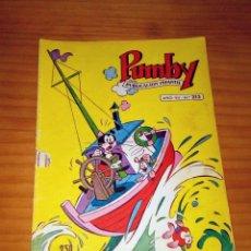 Tebeos: PUMBY - NÚMERO 213 - AÑO 1961 . Lote 123442007