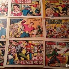 Tebeos: LOTE TEBEOS MILTON EL CORSARIO. EDITORIAL VALENCIANA. 1958. NºS 2, 4, 6, 7, 14, 86, 88, 95, 109. Lote 123544507