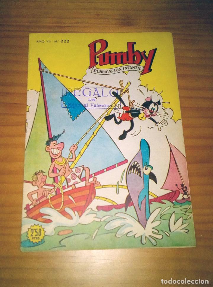 PUMBY - NÚMERO 222 - BUEN ESTADO (Tebeos y Comics - Valenciana - Pumby)