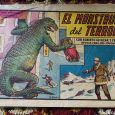 Tebeos: EL MONSTRUO DEL TERROR- ROBERTO ALCAZAR Y PEDRÍN, N°428.. Lote 124184039