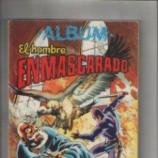 Tebeos: ALBUN EL HOMBRE ENMASCARADO-COLOSOS DEL COMIC-VALENCIANA-AÑO 1981-RETAPADO DE 4Nº-TOMO Nº 3 DEL 27... Lote 124405611