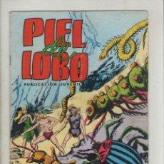 Tebeos: PIEL DE LOBO-COLOSOS DEL COMIC-VALENCIANA-AÑO 1980-COLOR-FORMATO GRAPA-Nº 16-FAUNA SUBTERRANEA. Lote 124553391