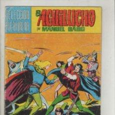 Tebeos: EL AGUILUCHO-VALENCIANA-COLOR-AÑO 1981-FORMATO GRAPA-GAGO-Nº 9-RETO A MUERTE. Lote 124554039