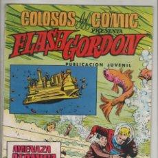 Tebeos: FLASH GORDON-VALENCIANA-AÑO 1979-FORMATO GRAPA-COLOR-Nº 30-AMENAZA ATOMICA. Lote 124555327