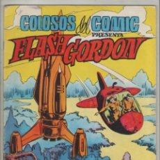 Tebeos: FLASH GORDON-VALENCIANA-AÑO 1979-FORMATO GRAPA-COLOR-Nº 11-EL PLANETA KROGIUS. Lote 124555927