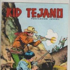 Tebeos: KID TEJANO-VALENCIANA-AÑO 1980-COLOSOS DEL COMIC-COLOR-Nº 19-GOLPE MORTAL. Lote 124556827