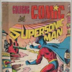 Tebeos: SUPERSONIC MAN-COLOSOS DEL COMICS-VALENCIANA -AÑO 1979-FORMATO GRAPA-COLOR-Nº 35-GUERRA DE PLANETAS. Lote 124557399