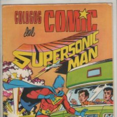 Tebeos: SUPERSONIC MAN-COLOSOS DEL COMICS-VALENCIANA -AÑO 1979-FORMATO GRAPA-COLOR-Nº 22. Lote 124557575