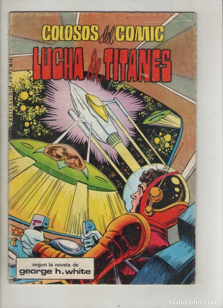 LA SAGA DE LOS AZNAR ,LUCHADORES DEL ESPACIO-B/N. AÑO 1980-VALENCIANA-FORMATO GRAPA-Nº 5-LUCHA DE... (Tebeos y Comics - Valenciana - Colosos del Comic)