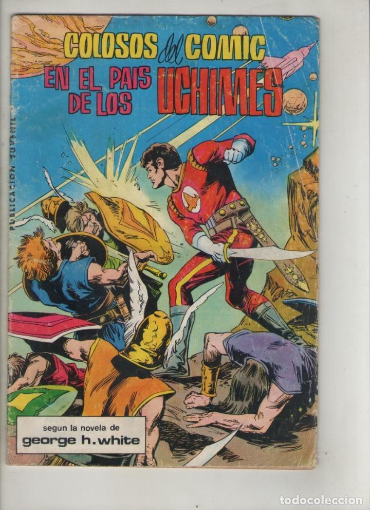 LA SAGA DE LOS AZNAR ,LUCHADORES DEL ESPACIO-B/N. AÑO 1980-VALENCIANA-FORMATO GRAPA-Nº 2-EN EL...... (Tebeos y Comics - Valenciana - Colosos del Comic)