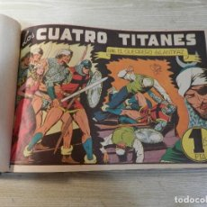 Tebeos: EL GUERRERO DEL ANTIFAZ, ED.VALENCIANA, ORIGINALES, DEL Nº 31 AL 60, ENCUADERNADOS. 1 Y 1,25 PTS. Lote 125104375
