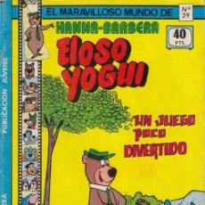 Tebeos: EL MARAVILLOSO MUNDO DE HANNA - BARBERA Nº 29 - EL OSO YOGUI. Lote 125327907