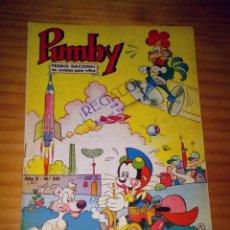 Tebeos: PUMBY - NÚMERO 341 - AÑO 1964. Lote 125394631