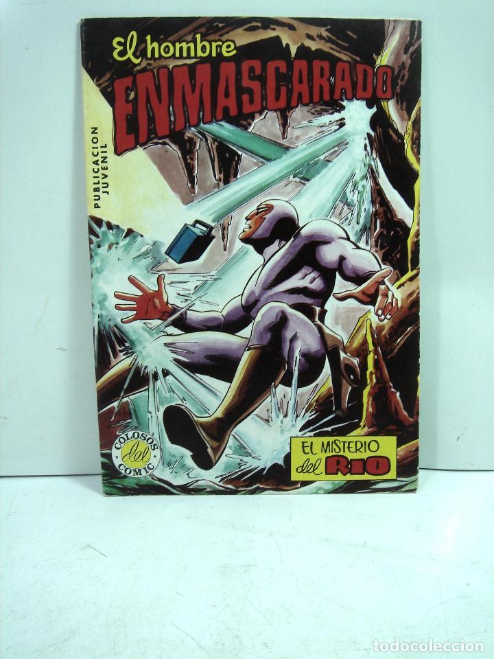 COMIC NUEVO ¡¡ EL HOMBRE ENMASCARADO 1982 -EL MISTERIO DEL RIO-Nº 49 VALENCIANA COLOR - SIN USO (Tebeos y Comics - Valenciana - Colosos del Comic)