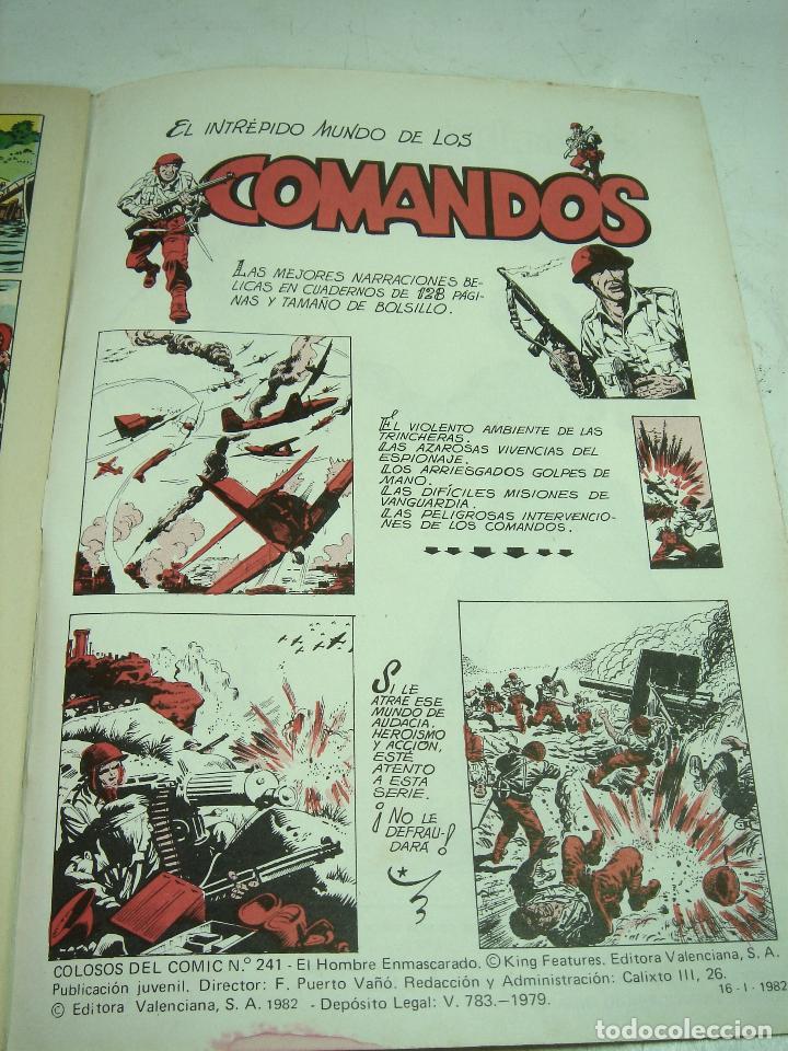 Tebeos: COMIC NUEVO ¡¡ EL HOMBRE ENMASCARADO 1982 -EL MISTERIO DEL RIO-Nº 49 VALENCIANA COLOR - SIN USO - Foto 5 - 125621183