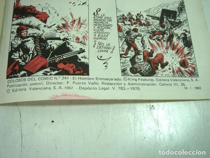 Tebeos: COMIC NUEVO ¡¡ EL HOMBRE ENMASCARADO 1982 -EL MISTERIO DEL RIO-Nº 49 VALENCIANA COLOR - SIN USO - Foto 6 - 125621183