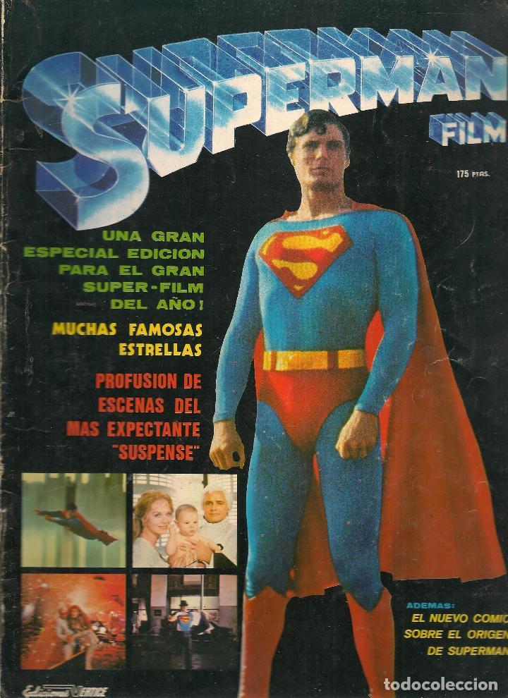 SUPERMAN. FILM. EDICIONES VERTICE. 1979. (B/58) (Tebeos y Comics - Valenciana - Otros)