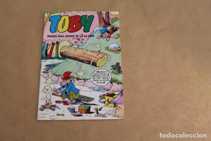 TOBY Nº 3, LLEVA HISTORIA DE HEROES DEL DEPORTE DE AMBRÓS, EDITORIAL VALENCIANA (Tebeos y Comics - Valenciana - Otros)
