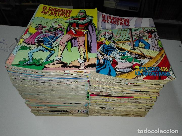 EL GUERRERO DEL ANTIFAZ / COMPLETA 343 NÚMEROS / VALENCIANA 1972 (Tebeos y Comics - Valenciana - Guerrero del Antifaz)