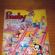 Tebeos: PUMBY - NÚMERO 470 - AÑO 1966 - BUEN ESTADO. Lote 126891639