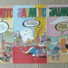 Tebeos: LOTE JAIMITO, NÚMEROS 1659-1661-1662-1663-1664 (EDITORA VALENCIANA, 1984).. Lote 126906546