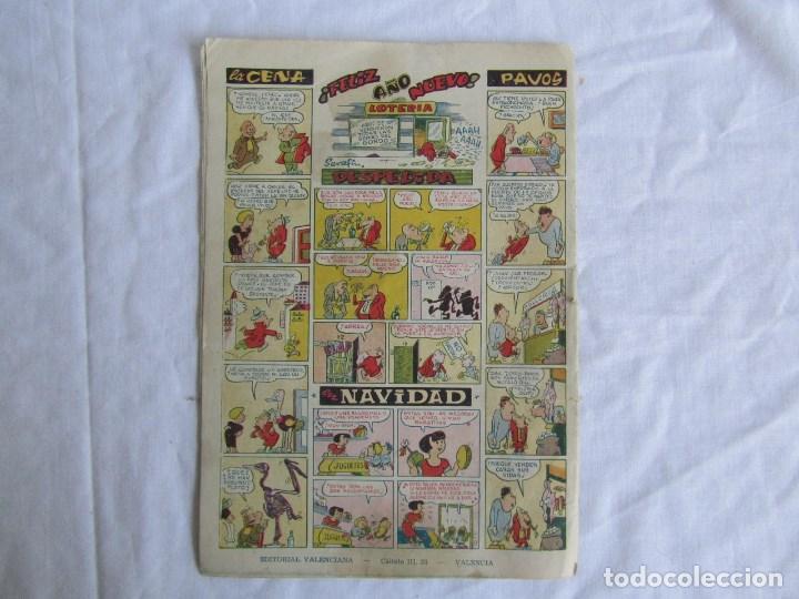 Tebeos: Almanaque de El Hombre de Piedra 1954 Original. Ed. Valenciana - Foto 2 - 126993971