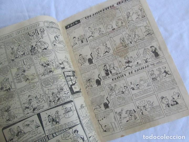 Tebeos: Almanaque de El Hombre de Piedra 1954 Original. Ed. Valenciana - Foto 4 - 126993971