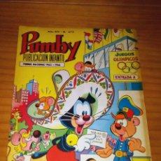 Livros de Banda Desenhada: PUMBY - NÚMERO 572 - AÑO 1968 - MUY BUEN ESTADO. Lote 127495171
