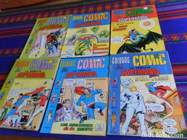 COLOSOS DEL CÓMIC LA FAMILIA SUPERMAN NºS 1 3 4 5 6 7 8 9 10 11. VALENCIANA 1979. 40 PTS. (Tebeos y Comics - Valenciana - Colosos del Comic)