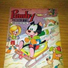 Livros de Banda Desenhada: PUMBY - NÚMERO 594 - AÑO 1969 - MUY BUEN ESTADO. Lote 127591939