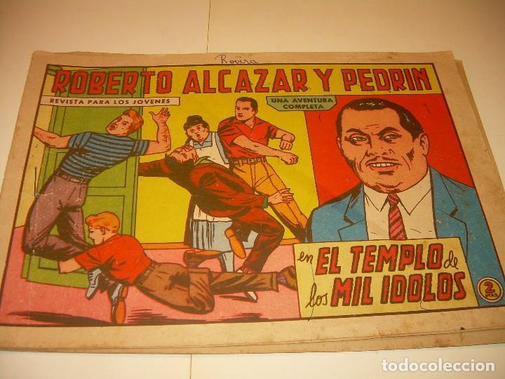 Tebeos: LOTE DE TRES COMIC...ROBERTO ALCAZAR Y PEDRIN. - Foto 2 - 127662063