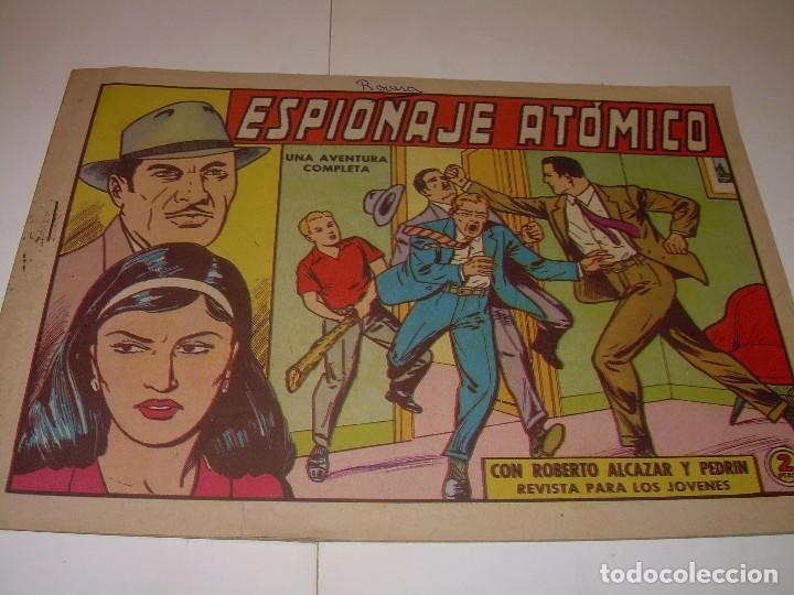Tebeos: LOTE DE TRES COMIC...ROBERTO ALCAZAR Y PEDRIN. - Foto 4 - 127662063