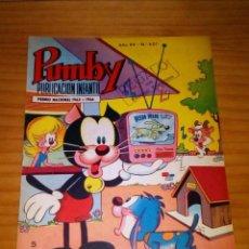 Livros de Banda Desenhada: PUMBY - NÚMERO 601 - AÑO 1969 - MUY BUEN ESTADO. Lote 127715387