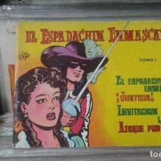 Tebeos: EL ESPADACHÍN ENMASCARADO. TOMO 1 CON LOS NROS.:1,2,3,4. VALENCIANA 1981.. Lote 127938363