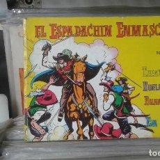 Tebeos: EL ESPADACHÍN ENMASCARADO. TOMO 2 CON LOS NROS.:1,5,6,7,8. VALENCIANA 1981.. Lote 127938459